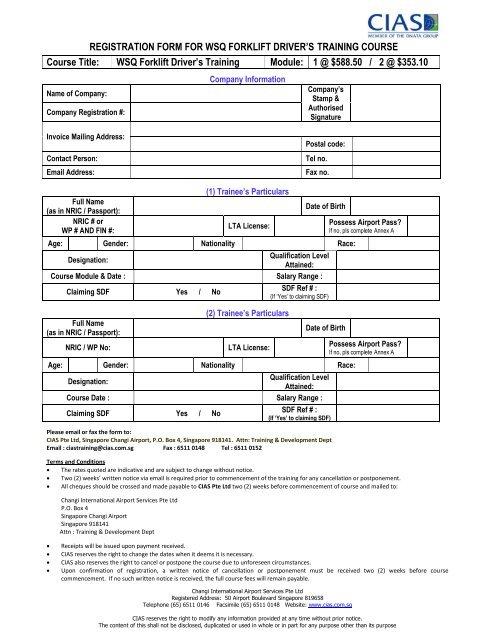 Forklift Reg & Airport Application form.pdf - CIAS