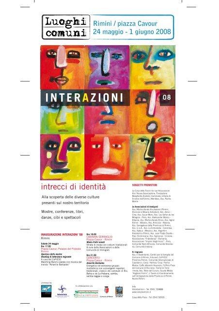 1 giugno 2008 INTERAZIONI 08 - Arcobaleno