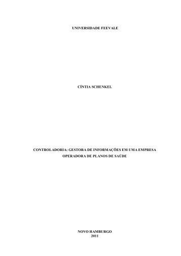 Trabalho de Conclusão de Curso - Feevale