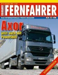 Axor mit Powershift - Mercedes-Benz Niederlassung Ostsee