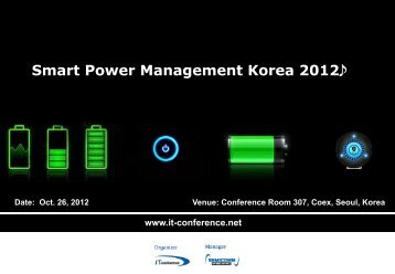 Smart Power Management Korea 2012J - Display Plus