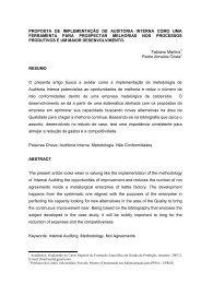 proposta de implementação de auditoria interna como ... - Feevale
