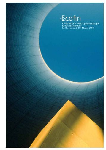 Annual Report 2006 - Ecofin