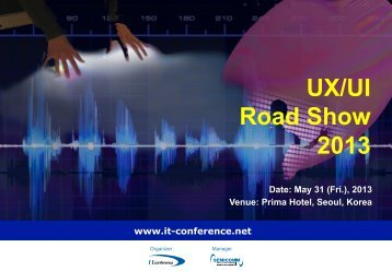 UX/UI Road Show 2013 - Display Plus