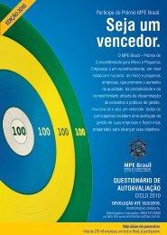 MPE Brasil 2010 - Questionário de Autoavaliação - Movimento ...