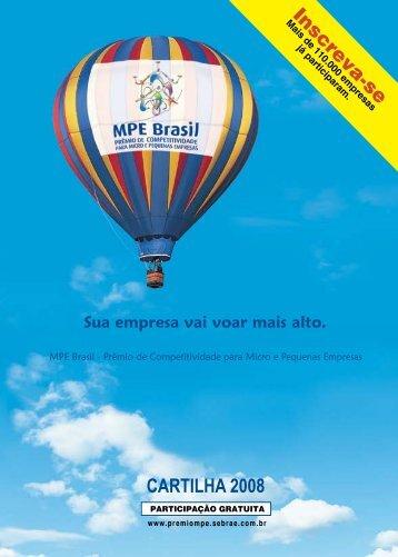 CARTILHA 2008 - Movimento Brasil Competitivo