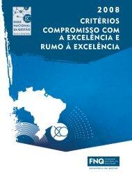 CRITÉRIOS COMPROMISSO COM A EXCELÊNCIA E RUMO À ...
