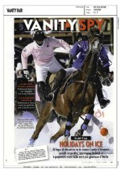 Page 1 Page 2 VANITY FAIR Settimanale Data Pagina 125134 ...