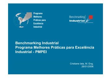 Benchmarking Industrial - Movimento Brasil Competitivo