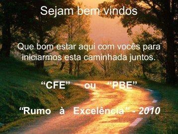 Tela Curso CFE 2010/2011 - Movimento Brasil Competitivo