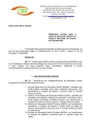 CME - Cachoeirinha - Sinpro/RS