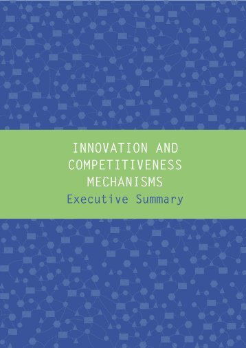 innovation and competitiveness mechanisms - Movimento Brasil ...