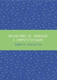 mecanismos de inovação e competitividade - Movimento Brasil ...