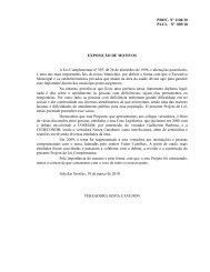 Projeto de Lei Complementar - Faders
