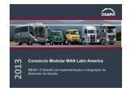 Consórcio Modular MAN Latin America