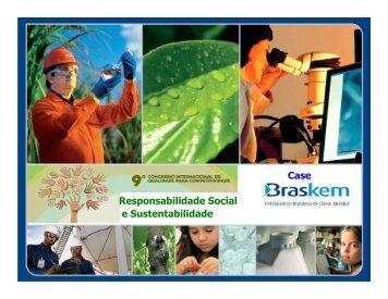 Responsabilidade Social e Sustentabilidade - Movimento Brasil ...