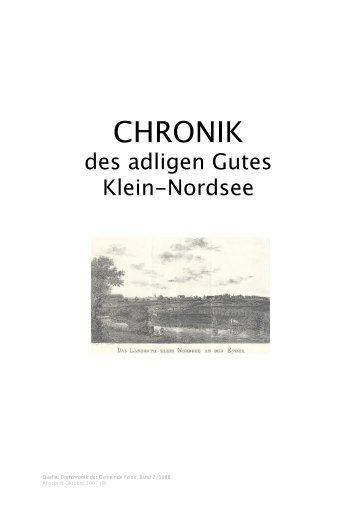 CHRONIK des Gutes Klein-Nordsee.pages - Gemeinde Felde