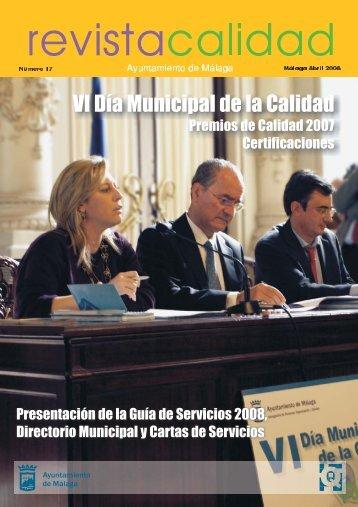 Revista Q17.CDR - Calidad - Ayuntamiento de Málaga