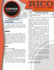 Bico - Boletim Informativo do COEDEPE - Outubro 2012 - Faders