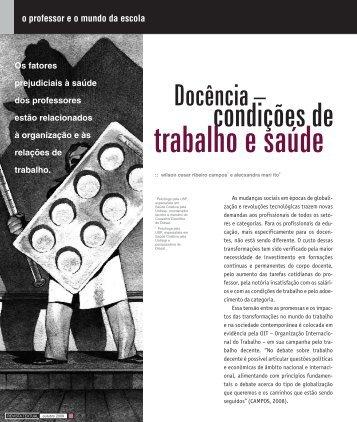 trabalho e saúde - Sinpro/RS