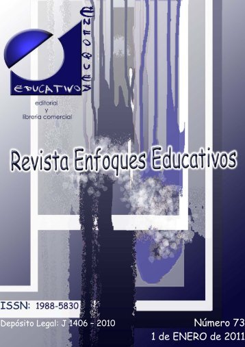 Revista Enfoques Educativos nº 73 - enfoqueseducativos.es