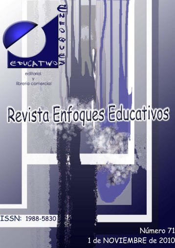 Nº71 01/11/2010 - enfoqueseducativos.es