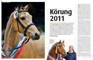 Körung 2011 - Pferd+Sport