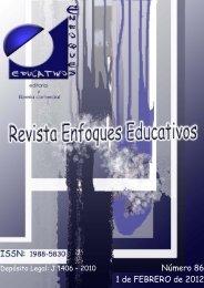 Nº86 01/02/2012 - enfoqueseducativos.es