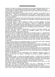 CONJUNTURA EDUCACIONAL DO PAÍS - Sinpro/RS