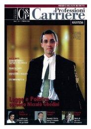 Professione e carriere - febbraio 2008 - Battagliese Buonaguidi