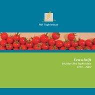 Festschrift - Hof Sophienlust