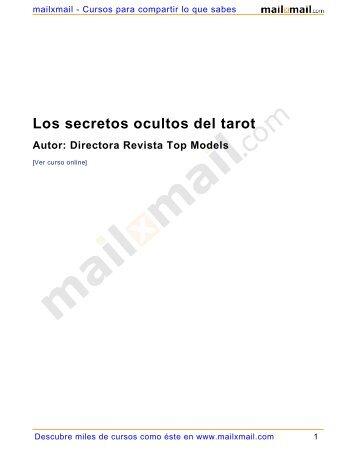 Los secretos ocultos del tarot - MailxMail