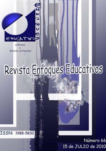 Nº66 15/07/2010 - enfoqueseducativos.es