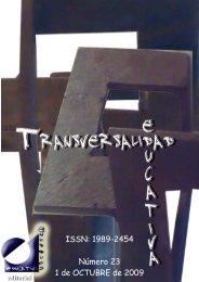 Revista Transversalidad Educativa nº 23 - enfoqueseducativos.es
