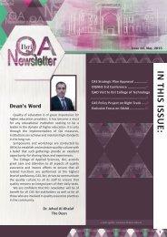 Ibri QA newsletter