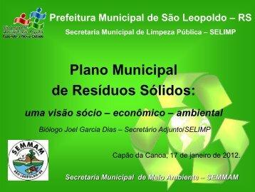 secretaria municipal de limpeza pública prefeitura municipal de são ...