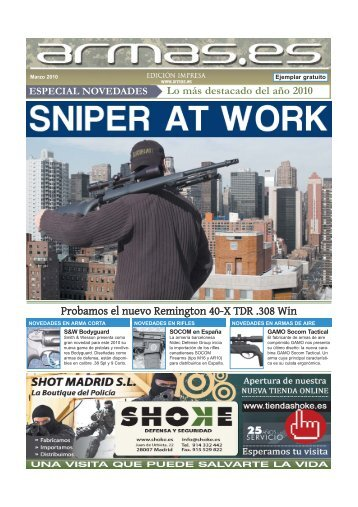 Probamos el nuevo Remington 40-X TDR .308 Win - Armas.es