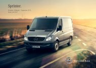 Sprinter. Euro 5 - Mercedes-Benz Niederlassung Ostsee