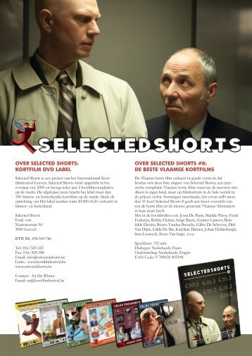kortfilm dvd label over selected shorts #8 - Internationaal ...