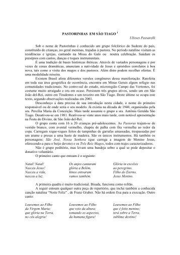 PASTORINHAS EM SÃO TIAGO - instituto histórico e geográfico de ...