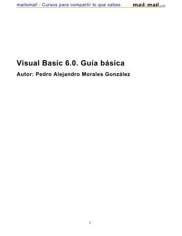 Visual Basic 6.0. Guía básica - MailxMail