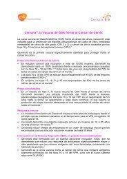 Cervarix®, la Vacuna de GSK frente al Cáncer de ... - Acta Sanitaria