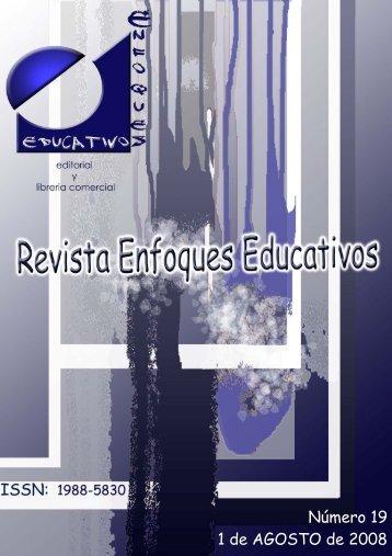 Nº 19 01/08/2008 - enfoqueseducativos.es