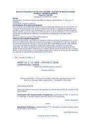 arrêt du 2. 10. 2008 – affaire c-36/08 commission ... - Acta Sanitaria