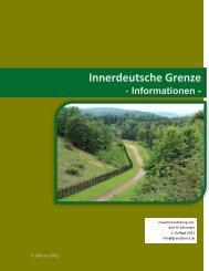 Innerdeutsche Grenze - Neue Seite 1