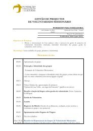 Consulte aqui o Programa do Workshop. - FEC