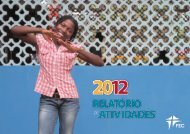 Relatório de Atividades 2012 - FEC
