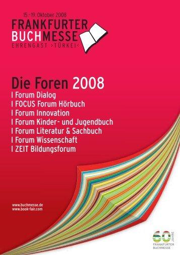 Die Foren 2008 - Lisan
