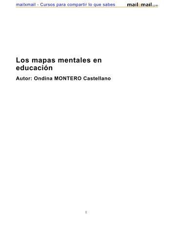 Los mapas mentales en educación - MailxMail
