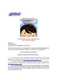 O menino que espiava pra dentro - Global Editora
